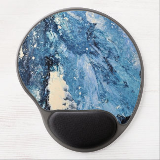 Abstract Art - Frost Bane Gel Mouse Pad