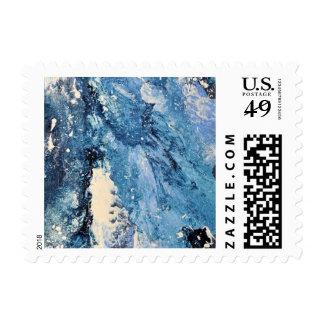 Abstract Art - Frost Bane Postage Stamp