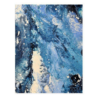 Abstract Art - Frost Bane Postcard