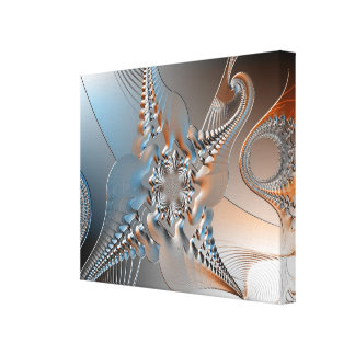 Abstract art gallery wrapped canvas