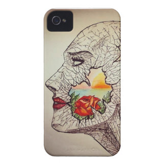 Abstract art Geek Nature Case-Mate iPhone 4 Case