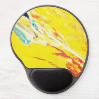 Abstract Art Gel Mouse Pad