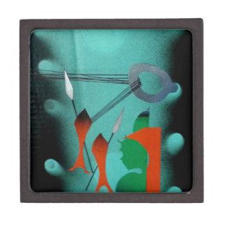 Abstract Art Gift Box