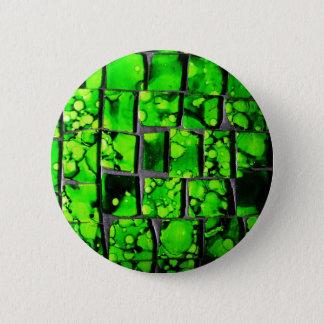 Abstract Art Glass Effect Glossy Wall Art Rigid Pl Pinback Button