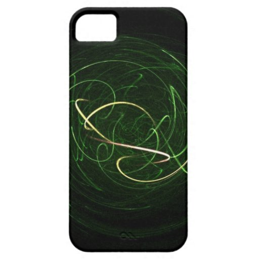 Abstract Art ( Green Energy ) Iphone 4 Case