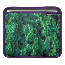 Abstract Art Green Pattern iPad Sleeve