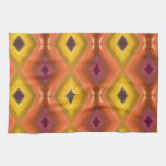 ABSTRACT ART HAND TOWELS
