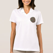 Abstract Art Happy Dance Polo Shirt