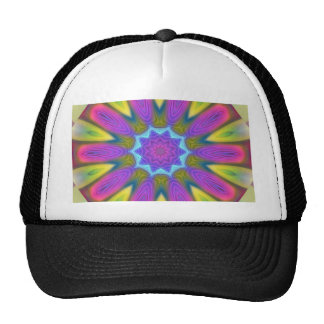 ABSTRACT ART- HAT
