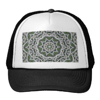 ABSTRACT ART MESH HAT