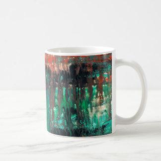 Abstract Art - Haunted Coffee Mug