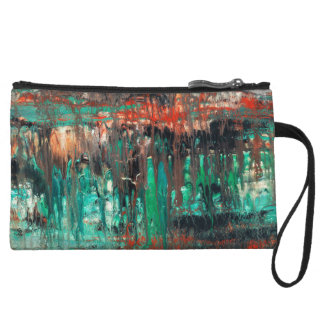 Abstract Art - Haunted Wristlet Wallet