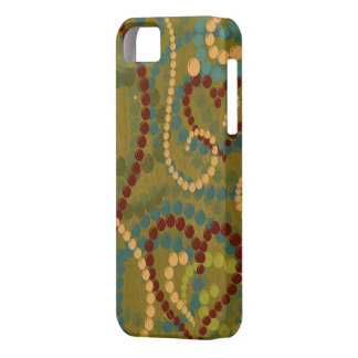 Abstract Art Hearts iphone 5 case