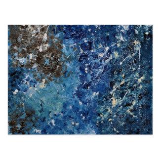 Abstract Art - Helvana Postcard