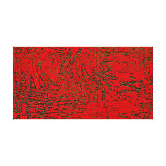 Abstract Art Hieroglyphics Gallery Wrapped Canvas