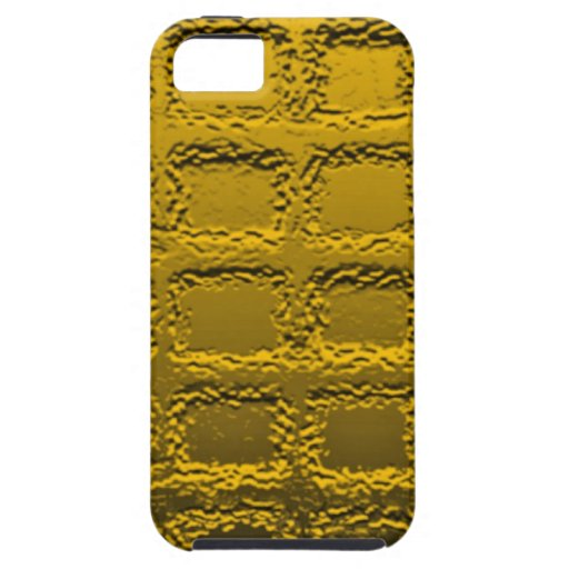 Abstract Art Honeycomb Yellow iPhone SE/5/5s Case
