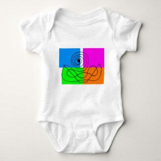 Abstract art Horacio Romera Baby Bodysuit