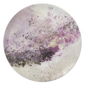 Abstract Art - Hush Plate