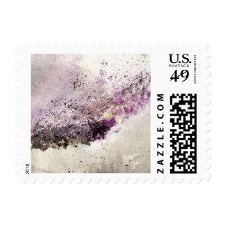 Abstract Art - Hush Postage Stamp