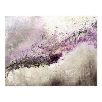 Abstract Art - Hush Postcard