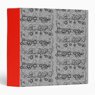 Abstract Art illustrations Binder