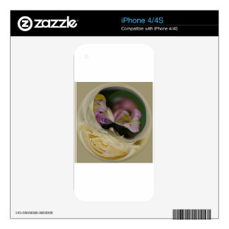 Abstract Art Image Decal For The iPhone 4S
