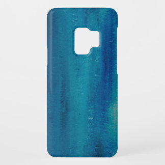 Abstract art in blue Case-Mate samsung galaxy s9 case