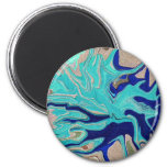 Abstract Art in miniature Fridge Magnet