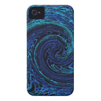 abstract art iPhone 4 /4s case - caspian 40