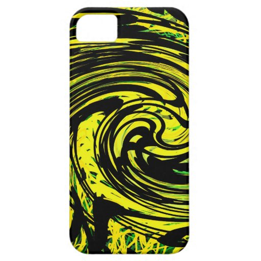 abstract art iPhone 5  case - caspian 28 iPhone 5 Cover