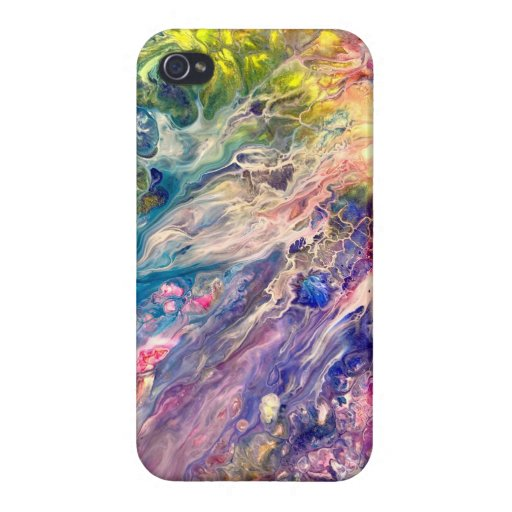 Abstract art case for iPhone 4