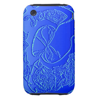 Abstract Art Jellyfish iPhone 3 Tough Cases