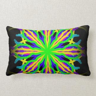 abstract art kaleidoscope designer pillow
