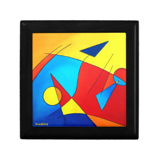 Abstract Art Keepsake Box