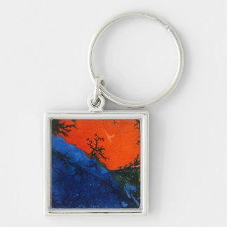 Abstract Art Key Chain
