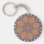 ABSTRACT ART KEY CHAINS