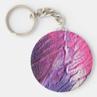 Abstract art keychain