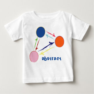 abstract art kiddies tshirt