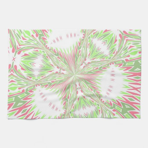 ABSTRACT ART KITCHEN TOWELS