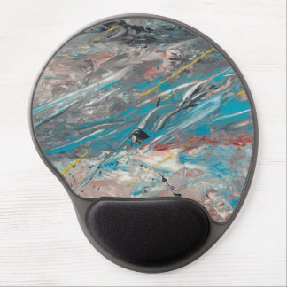 Abstract Art - Labyrinth Gel Mouse Mat