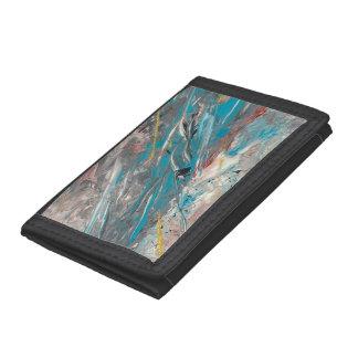Abstract Art - Labyrinth Tri-fold Wallets