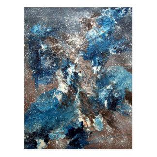 Abstract Art - Lamentation Postcard