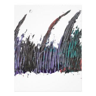 abstract art letterhead
