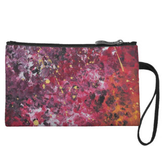 Abstract Art - Levana Wristlet Wallet