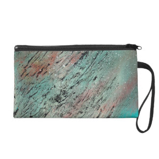Abstract Art - Lost and Found Wristlet Purse