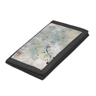 Abstract Art - Lullaby Tri-fold Wallets