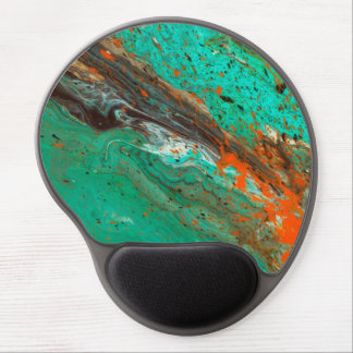 Abstract Art - Lush Earth Gel Mouse Mats