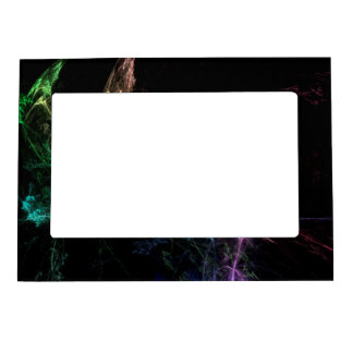 Abstract Art Magic Lights Frame Magnets