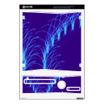 Abstract Art Mellow Blue Xbox 360 S Console Skins
