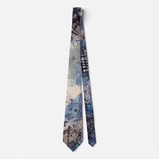 Abstract Art Men's Silk Tie